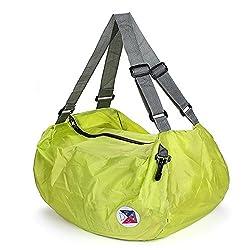 PackNBUY GREEN Nylon Folding Travel Bag