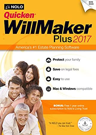 Nolo.com Quicken WillMaker Plus 2017