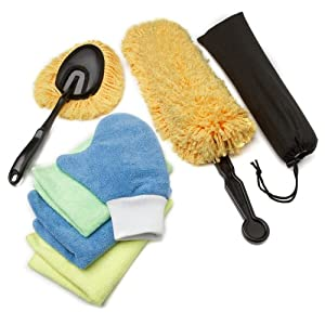 Zwipes 6-Piece Microfiber Dusting Kit