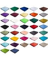 Authentic Jacob Alexander - Wholesale Lot of 10 Mens Solid Color Pocket Squares