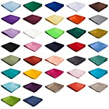 Wholesale Lot of 10 Mens Solid Color Pocket Squares