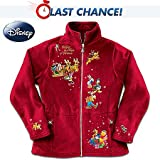Disney Characters Fleece Jacket: Magic Of Christmas