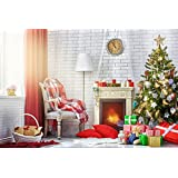 HUAYI 5x7ft Christmas Photography Backdrops Fireplace Background Xt-3563 (Color: 7)