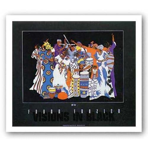"""Amazon.com: Love EDO by Frank Frazier 24""""x17.5"""" Art Print"""
