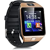 ApeCases Bluetooth Smart Watch Phone With Camera And Sim Card Support With Apps Like Facebook And WhatsApp Touch...