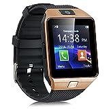 DUJ INTERNATIONAL DZ09 Bluetooth Smart Watch - Brown