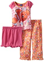 Nemo Girls 2-6X Flowers for Nemo, Multi, 3T