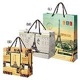 Amazon.co.jpクラシックパリ 紙袋セット(フランス土産・海外土産)