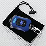 Richbrook Official Ford Blue Tyre Pressure Gauge Keyring
