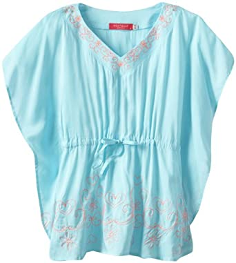 Amazon.com: Seafolly Big Girls' Party Kaftan Swimsuit Cover Up, Attol