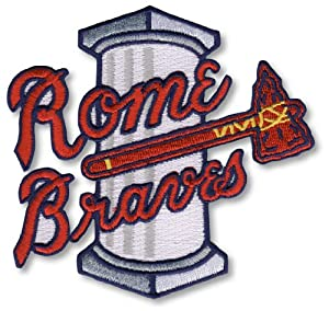 Rome Braves Minor League Primary Team Logo Patch by Patch Collection