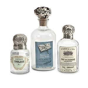 Imax 89450 3 Abelle Decorative Perfume Bottles Set Of 3