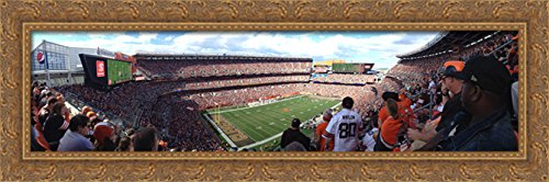 firstenergy-stadium-40x14-large-gold-ornate-wood-framed-canvas-art-home-of-the-cleveland-browns