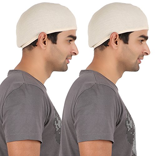 Adishi AD-2c-8906070910145-Men Herbal Helmet Cap(pack of 2)(Beige)