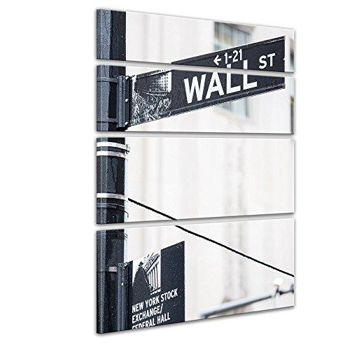 bilderdepot24-toile-deco-imprimee-tableau-toile-wall-street-rue-signe-120x180-cm-4-pieces-tableau-su