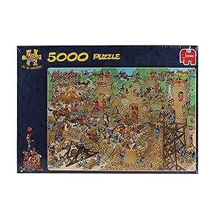 Jumbo 17223 - Jan van Haasteren - Mittelalter - 5000 Teile