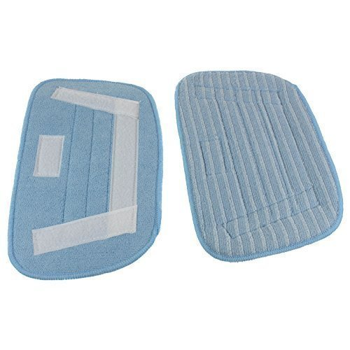 Microfibre Hard Floor Cleaning Cloth Pads Compatible with Morphy Richards 70465 720501 Steam Cleaners 2Pack