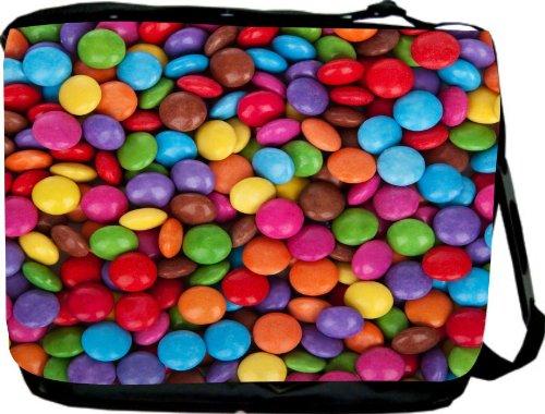 Rikki Knight Multicolored Lentil Candies Messenger
