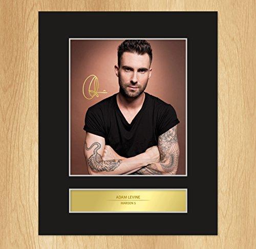 Adam Levine espositore di foto a forma di targhetta, motivo: Maroon 5