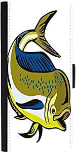 Snoogg Dorado Dolphin Fish Mahi Mahi Jumping Designer Protective Phone Flip Case Cover For Htc Desire 526G Plus