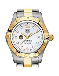 Citadel TAG Heuer Watch - Women's Two-Tone Aquaracer Watch with Diamond Dial