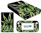 CSBC Skins Nintendo Wii U Design Foils Faceplate Set - Cannabis Design