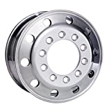 "Accuride 22.5"" x 8.25"" Aluminum 10 on 11.25"" Stud Pilot BUDD Wheel (28615SP)"