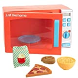 Just Like Home Talking Microwave Oven - Orange