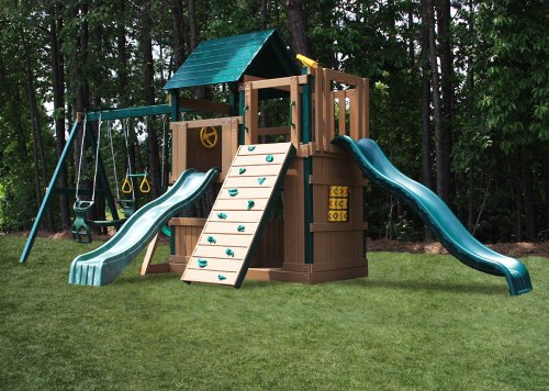 Congo Safari Lookout And Climber Play System front-773861