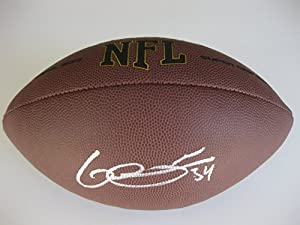 George Atkinson III, Oakland Raiders, Notre Dame, Signed, Autographed, NFL Football,... by Coast to Coast Collectibles