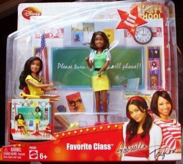 Buy Low Price Mattel High School Musical 3 Favorite Class Movie Scene Playset Figure (B001TIXO96)