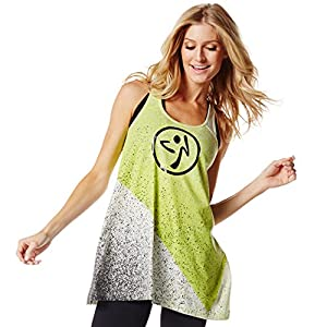 Zumba Wear Women's So Shaded Racerback Loose Top