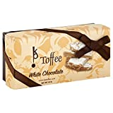 Premium Gourmet English Toffee By Kp! (White Chocolate, 1/2lb)