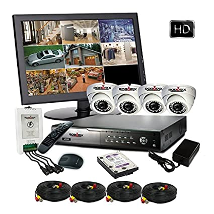 ROBORIX-4D-HD2WMK-4CH-Dvr,-2MP-2-Bullet-Cameras-&15-LED-Monitor-(With-Accessories)