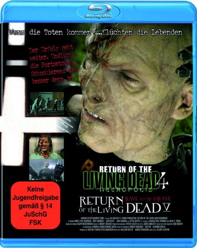 Return of the Living Dead 4 + 5 Box [Blu-ray]