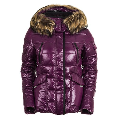 KJUS Women's Cosmopolitan Down Jacket – Deep Purple L