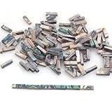 DN 1 Set Of 60pcs Natural Abalone Inlays Guitar Binding Body Project Total Length 42cm