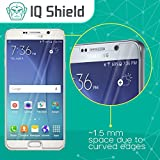 IQ Shield Tempered Glass - Samsung Galaxy Note 5 Glass Screen Protector (Premium Ballistic Glass with Lifetime Warranty) - 99.9% Clear True HD Glass Shield / 9H Hardness / Shatter-Proof + Bubble-Free