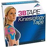 "3B Scientific Black Cotton Kinesiology Tape, Bulk Roll, 2"" Width x 101' Length"