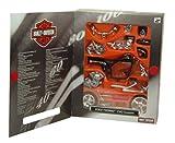 Harley Davidson CVO Custom 2002 (Kit) in Black (1:18 scale) Diecast Model Motorbike Kit
