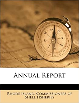 Annual Report Rhode Island Commissioners Of Shell Fis