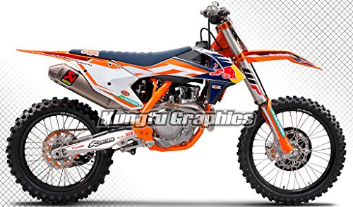 Kungfu Graphics 2017 2016 KTM SX SXF XCF 125 150 250 350 450 Complete Graphic Decal Kit (2016 KTM 250sx is NOT included) (Ktm Sxf 450 compare prices)