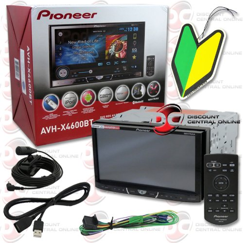 "2013 Pioneer Double Din 2Din 7"" Touchscreen Car Dvd Cd Player Bluetooth Pandora Support + Wireless Remote With Free Squash Air Fresheners"