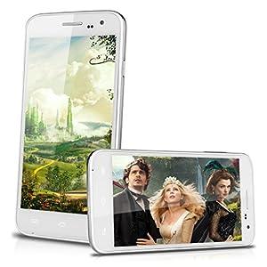 3G Smartphone Blanc - 5,0