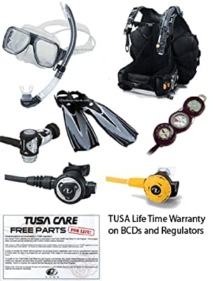 Tusa Dive Essentials Adventure Package sourcing is TUSA