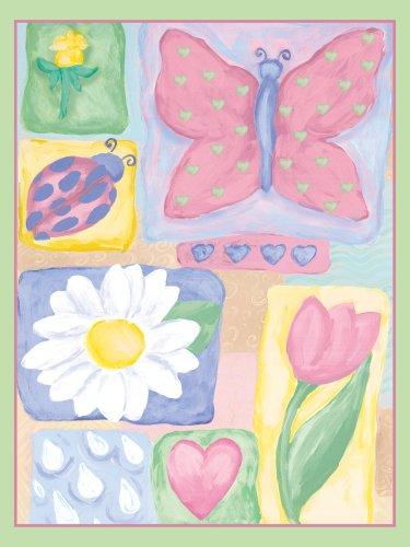 "Art 4 Kids ""Springtime Garden I"" Mounted Art Print, 18""X24"" front-873209"