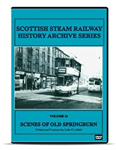 DVD Scenes of Old Springburn Glasgow Classic and Vintage Steam Trains locomotive DVD British Scottish Rail Railway railroad History