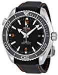 Omega Men's 232.32.46.21.01.005 Seamaster Planet Ocean Black Dial Watch by Omega