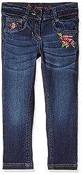 UFO Girls' Jeans (AW-16-DF-GKT-394_Indigo Dark_4 - 5 years)