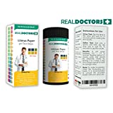 Litmus Paper Best pH Test Strips & pH Balance Test Strips Urine Test Strips - Most Authentic And Accurate Results In Seconds, Balance pH Level Regularly, 200 True Result Test Strips REAL DOCTORS